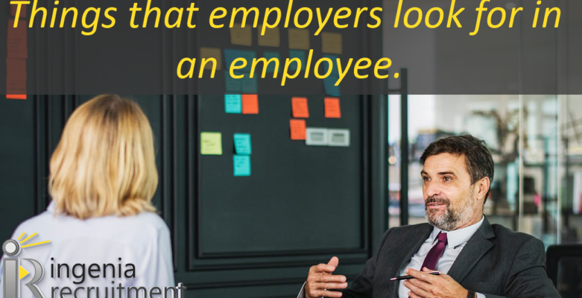 What employers look for in an employee?