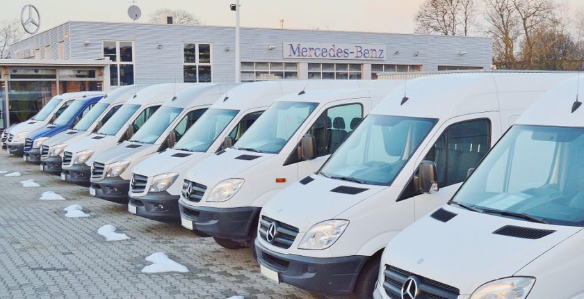 Van sales grow
