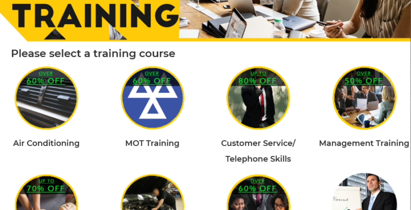Ingenia Training page