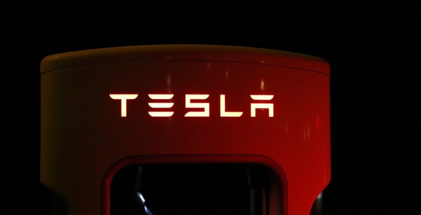 Tesla EV Charge Point