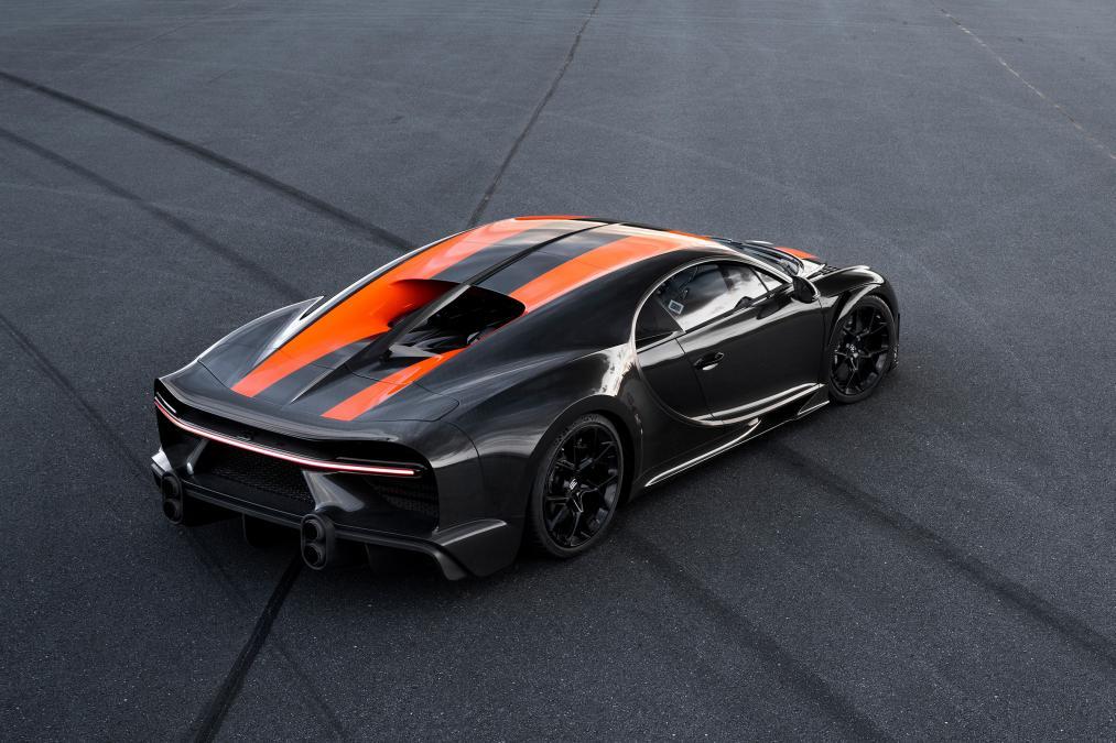 Bugatti Chiron breaks record