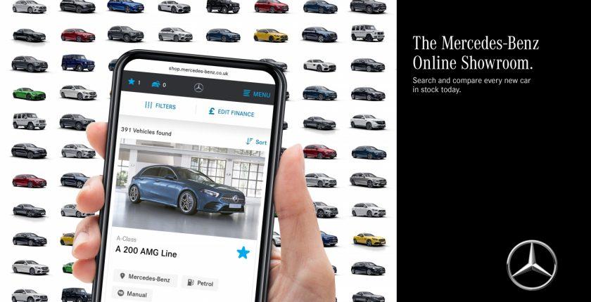 Mercedes-Benz Online Showroom